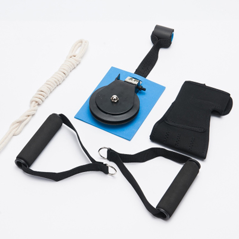 Katrolringen Ouderen Herseninfarct Hemiplegie Slag Recept bovenarm Rehabilitatie Handarm Tractie Oefening Equip