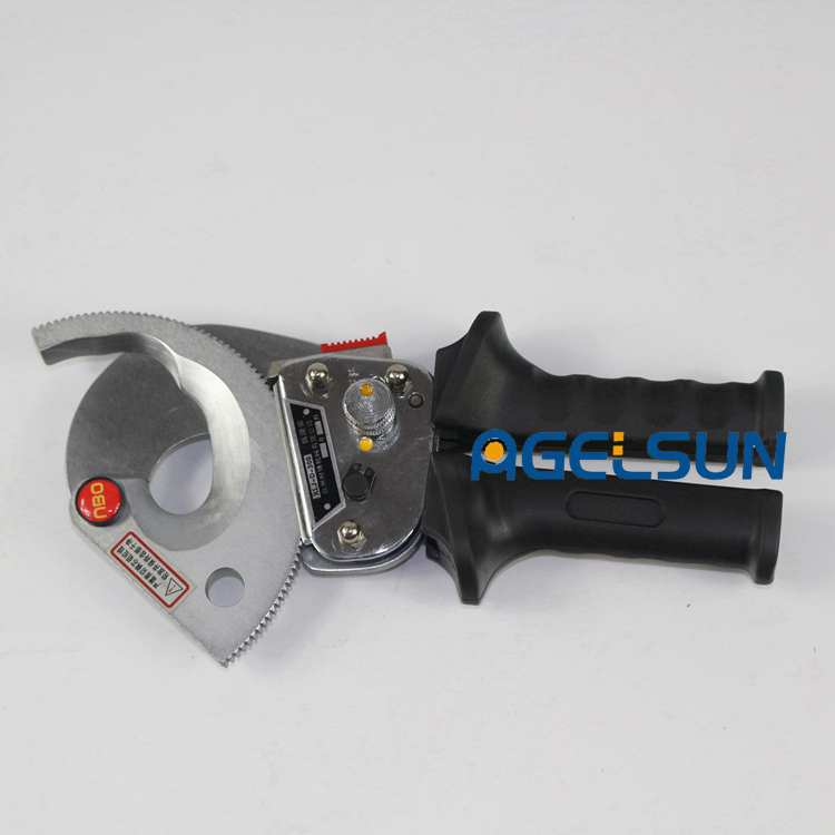 Durable Ratchet Cable Cutter XLJ-D-300A for cutting copper& aluminum cable armored below 40mm or 300mm2 ratchet cable cutter hs 300b cable cutting tool for copper aluminum cables 300mm2 max