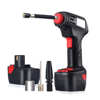 Digital LED Smart Car Air Compressor Pump Portable Handheld Car Tire Inflator Electric Air Repair Tool Accessories