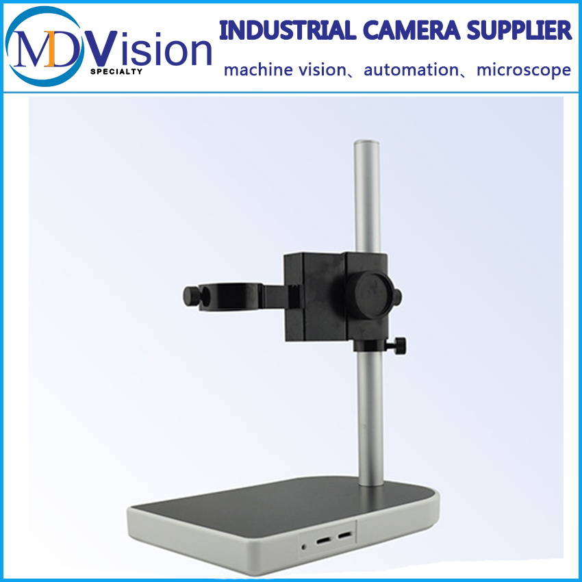 ФОТО CCD Industrial Camera Holder Upper And Down Regulation Digital Industry Lab Microscope Lens Table Stand Fixed Holder