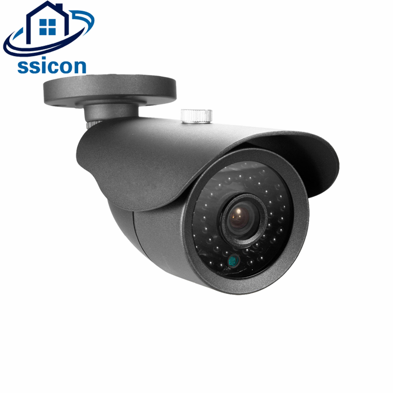 SSICON Waterproof Night Vision 2MP CCTV Camera AHD Outdoor SONY IMX323 CMOS Sensor Analog CCTV Camera Bullet With OSD Menu smar outdoor bullet ip camera sony imx323 sensor surveillance camera 30 ir led infrared night vision cctv camera waterproof