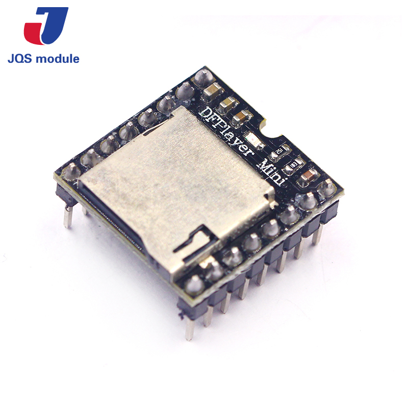 TF Card U Disk Mini MP3 Player Audio Voice Module Board For Arduino DFPlay Wholesale DFPlayer tf card u disk mp3 format decoder board module amplifier decoding audio player