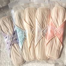 2Pcs Reusable Washable Sanitary Pads Menstrual Pad Cloth Sanitary Maternity Mama Pads Sanitary Napkin Menstrual Liner mix color