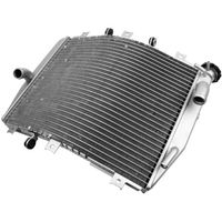 Motorcycle Aluminum Replacement Radiator Cooler Cooling For Kawasaki ZX10R ZX 10R 2004 2005