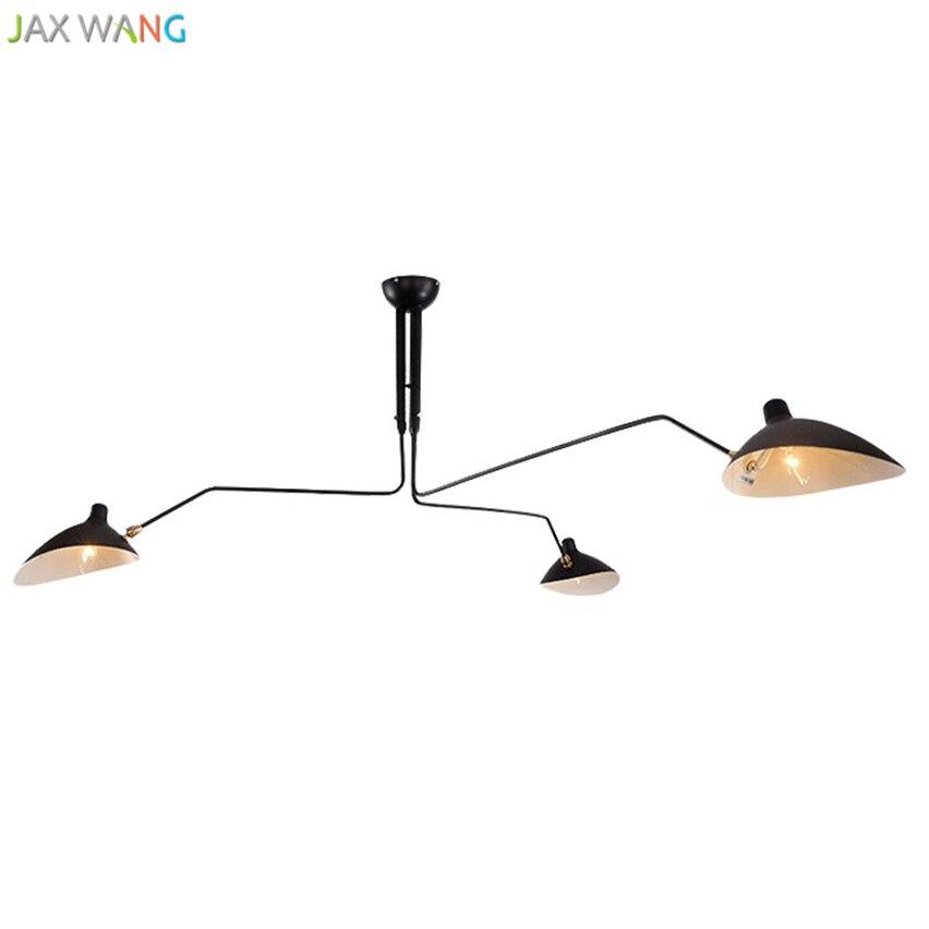 Jax Nordic Retro Vintage Deckenleuchten Hause Beleuchtung Leuchte Schmiedeeisen Deckenleuchte E27 Wohnzimmer Lamparas Decor