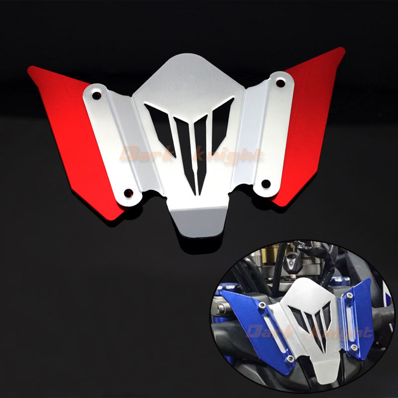 For YAMAHA MT07 FZ07 MT-07 FZ-07 2014 2015 2016 Red Motorcycle CNC Aluminum Windscreen Windshield Mounting Bracket New last blue – poems
