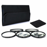 67mm Close Up Macro filter Lens Set +1 +2 +4 +8 +10 +Case+ Cloth for canon nikon sony pentax dslr 67mm camera lenses