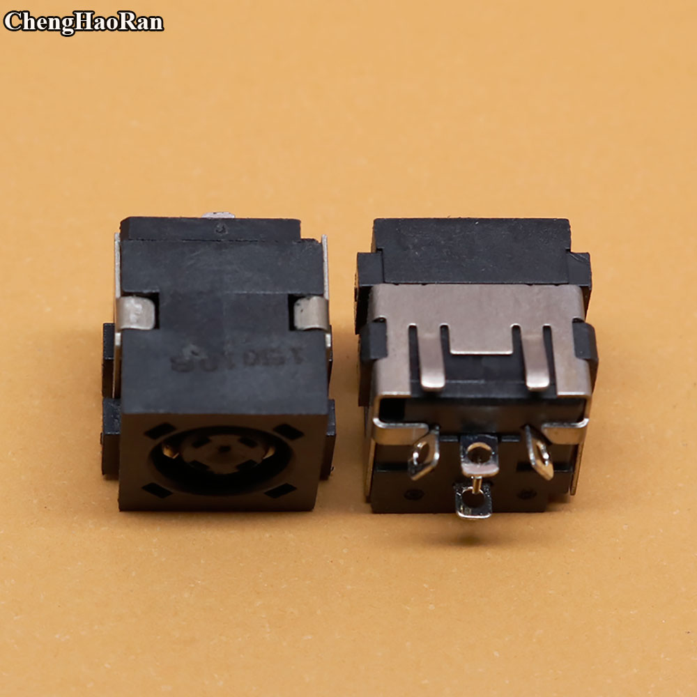 ChengHaoRan Laptops Computer DC Jack Power Port Socket Connector Fit For DELL Inspiron 14R N4050 Notebook Power Jack Connectors