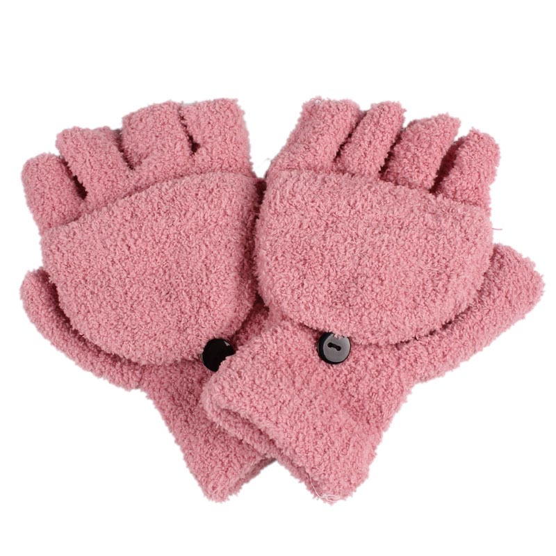 6 Farben Mode Winter Frauen Mädchen Weihnachten Wärmer Handschuhe Dame Damen Hand Handgelenk Warmer Winter Fingerlose Handschuhe Feine Verarbeitung