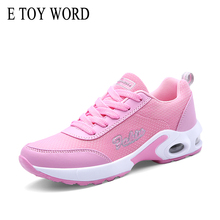 E TOY WORD Women Sneakers Platform Breathable Casual Shoes Lace Up ulzzang shoes Ladies Jogging Athletic Shoes zapatos mujer word up футболка