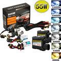 55 W Bi-Xenon HID Headlight KIT de Conversión de los Bulbos del Lastre H1 H3 H4 H7 H11 9005 6 Luz Del Coche fuente de La Lámpara Del Faro (bombillas + Lastre)