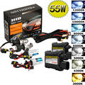 55W Bi-Xenon HID Headlight Conversion KIT Bulbs Ballast H1 H3 H4 H7 H11 9005 6 Car Light Source Headlight Lamp (Bulbs + Ballast)