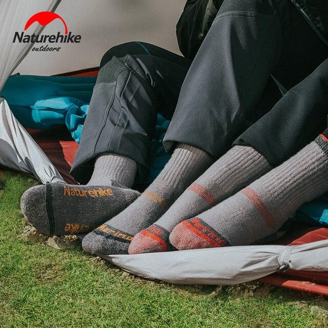 NatureHike Male wool socks Hiking 4