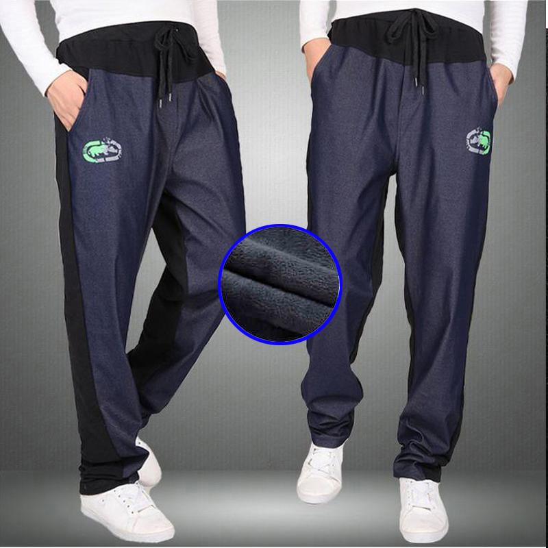Warm winter pants men Joggers pants Hip Hop pants men clothes 18 Streetwear men's trousers large size XXXL 4XL 5XL 6XL 7XL 8XL 5