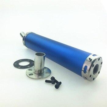 STARPAD Motorrad Geändert Gerade Auspuff 60*280mm Motorrad Auspuffrohr armaturen Blau