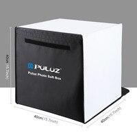 PULUZ 40 x 40cm Photo Studio Box Foldable Photograghy Studio Shooting Soft Box Kits SL@88