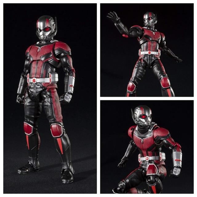 SHFiguarts Avengers Captain America Civil War Ant Man Wasp PVC Action  Figure Toy Brinquedos 819561cdb096