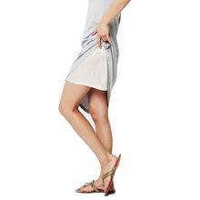 Женский подъюбник Нижняя юбка с эластичным поясом безопасная