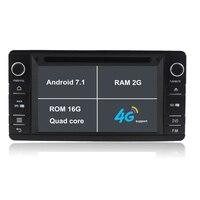4 ядра android 7.1.1 2 г Оперативная память dvd плеер автомобиля для Mitsubishi Outlander 2014 2015 с 16 ГБ флэш Зеркало Ссылка GPS Wi Fi 1080 P