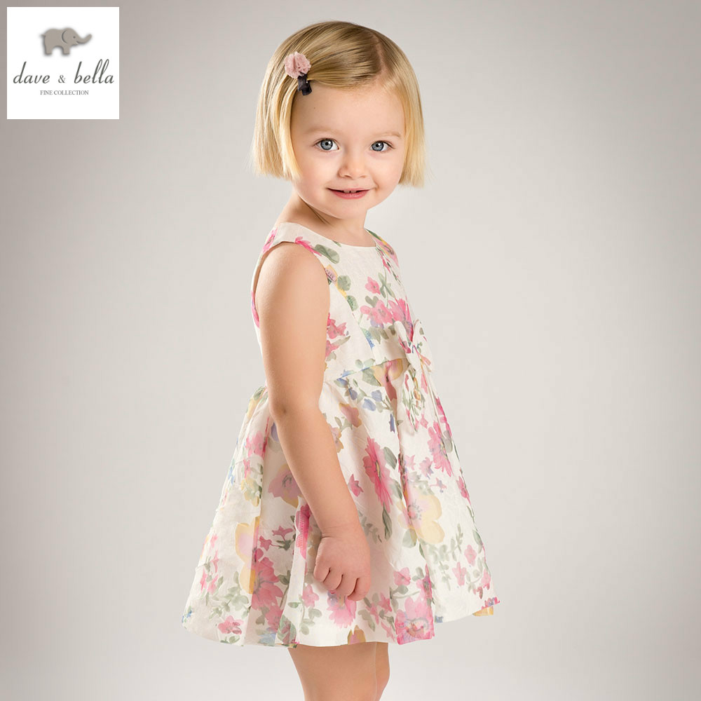 DB5021 dave bella summer baby girl princess dress baby wedding dress kids toddle clothes dress girls Lolita dress db1553 dave bella summer baby dress infant clothes girls party dress fairy dress toddle 1 pc kid princess dress