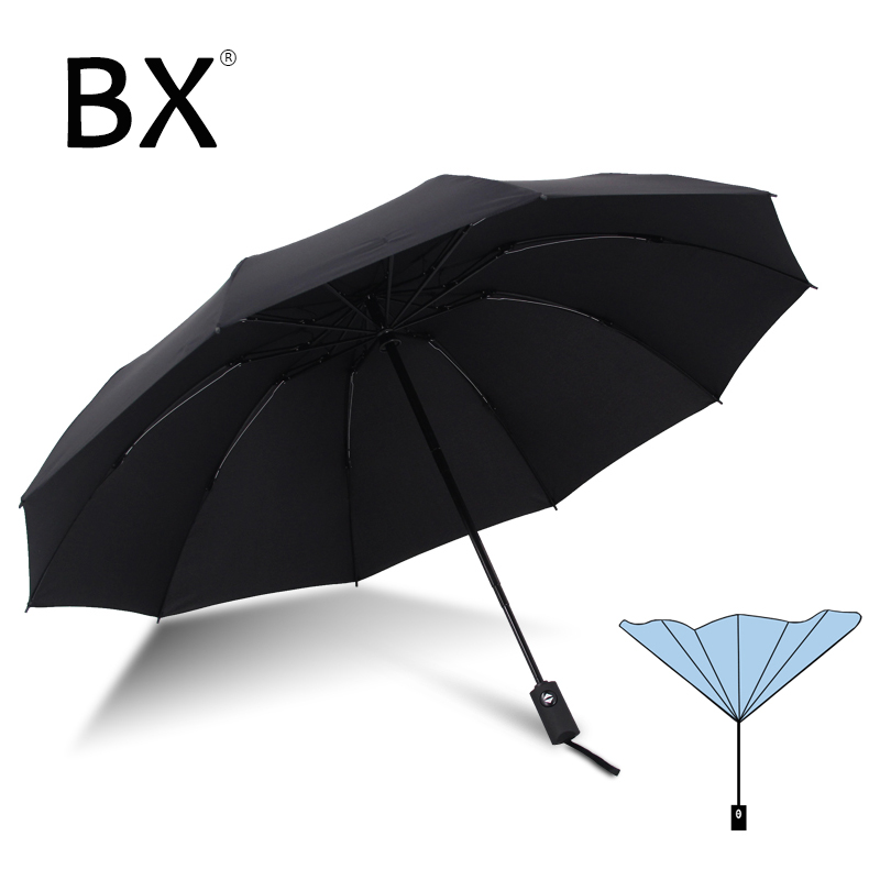 Bachon automatic reverse folding umbrella super windproof umbrella for men for women