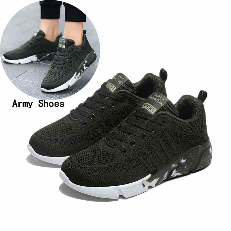 Men Shoes Casuals Spring Man Walking Shoes Sweethearts Flying Mesh Sport Runing Sneakers Men Casual Shoe #3