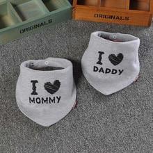 2 Pcs Cotton Baby Bandana Bibs Double Layers Saliva Scarf Fashion Cartoon Print Triangle Towel for Newborn Boy Girl DS19