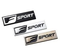 3D Metal F SPORT Emblem F Sport Badge Car Stickers 8.5x3.8cm