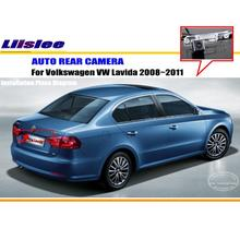 Car Rear View Camera / Back Up Reverse Parking Camera For VW LAVIDA 2008~2012 License Plate Lamp / HD CCD Night Vision