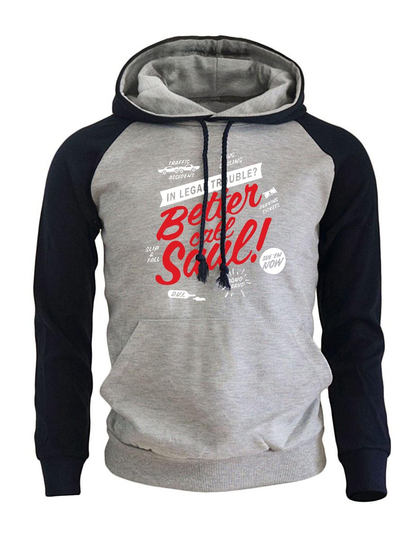 9571fcff1234 Traje deportivo de moda para hombres 2017 nueva sudadera caliente de lana  caliente con sombrero estampado mejor llamada Saulo Casual Hoodies macho ...