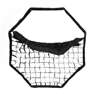 """Image 4 - Godox przenośny 120 cm/47 """"parasol + siatka o strukturze plastra miodu Photo Softbox reflektor do lampy błyskowej"""