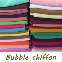 15 teile/los Hochwertigen Klar Blase Chiffon Schals Stirnbänder Beliebte Hijab Sommer Moslemische Schals
