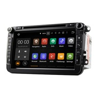 Android 5 1 Special Car Audio DVD Player Stereo Quad Cord 8 Inch 2 Din For