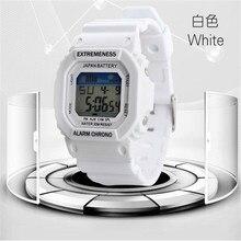 Новый Для женщин Спортивные часы цифровые часы Военная Униформа дамы Часы для студенток модные женские туфли наручные часы Relojes Mujer 2016