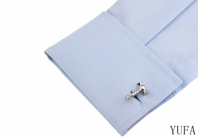 Jewelry Metal Lawyer Hammer Cufflinks Male French Shirt Men's