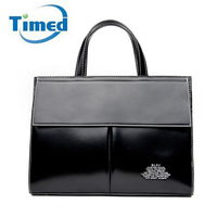 Brand Genuine Leather Pu Women S Handbags Business Briefcases OL File Laptop Totes Lady Shoulder Bags