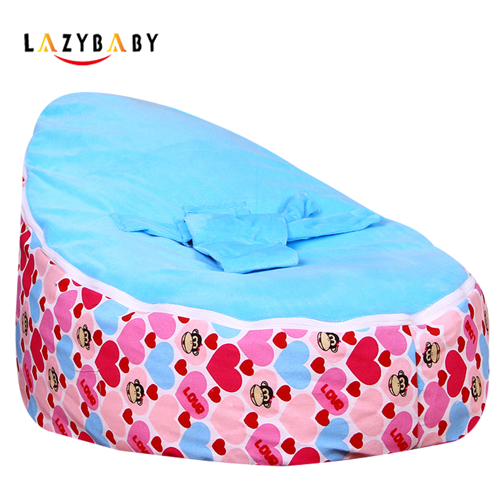 Lazybaby Medium Mouth Monkey Baby Bean Bag Chair Kids Bed
