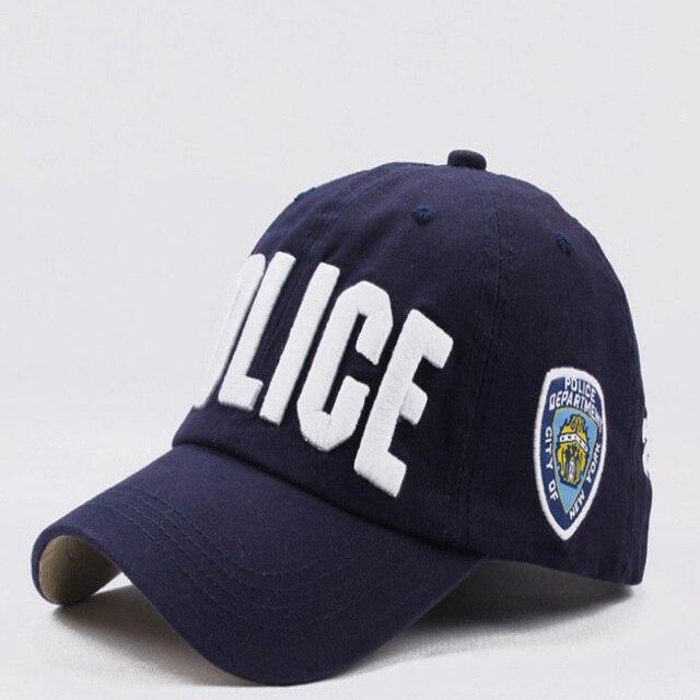 Alta calidad unisex gorra de policía sombrero gorra de béisbol de ...