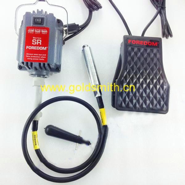 Moteur de meulage de 220 v foredom SR, mini grider d'arbre de câble de SR, puissance de 200 w