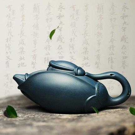 300cc Famous Yixing China Zisha teapot Purple Clay Magnolia Pot Chinese Kung Fu Teapot Master pure handmade Teapot Free Shipping