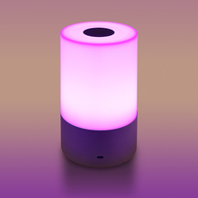 LemonBest RGB LED Başucu Gece Lambası Atmosfer Lamba Dokunmatik Sensör şarj edilebilir masa lambası 3 level Parlaklık Başucu Lambası