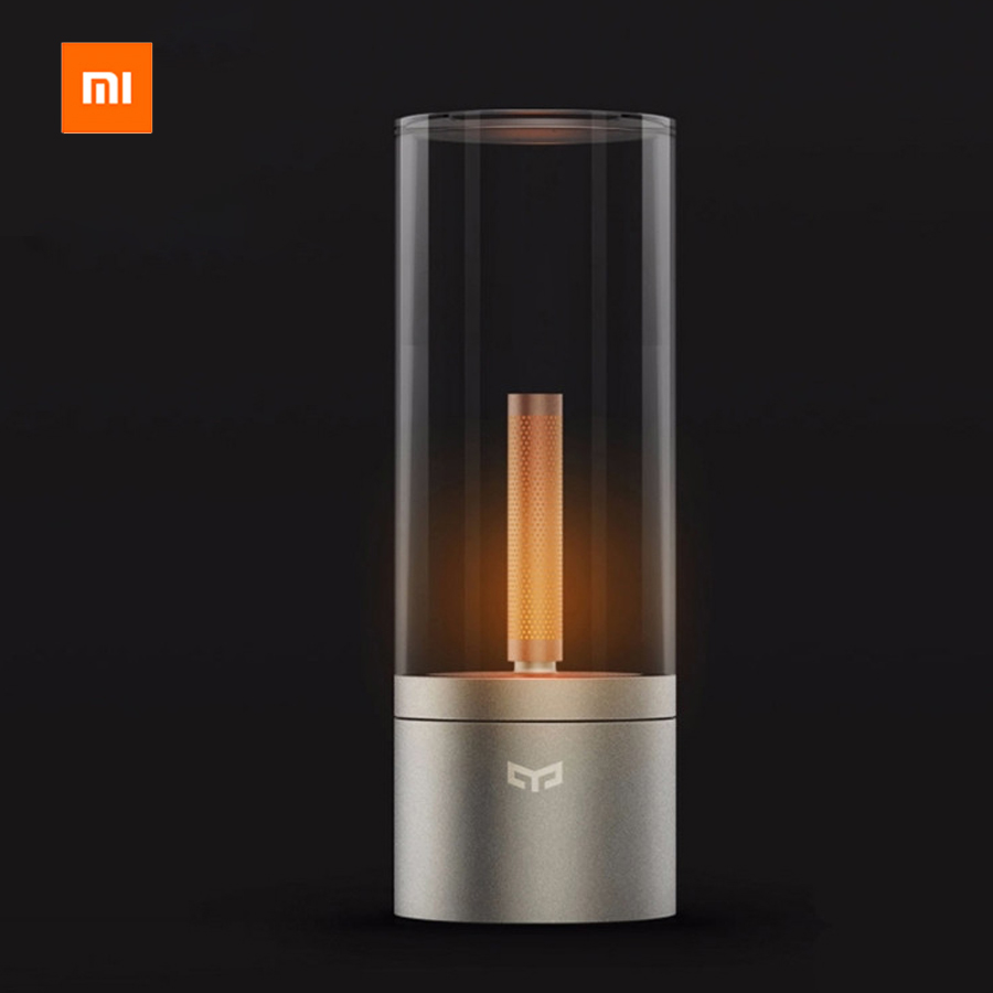 все цены на Original Xiaomi Yeelight Mijia Candela Smart Control Led Night Light of Mood Light Xiaomi Smart Home Kits For Mi Home Smart APP