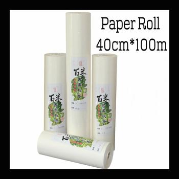 40 cm * 100 m papier ryżowy chiński do malowania papieru i kaligrafii papier do malowania dostaw sztuki papieru tanie i dobre opinie Malarstwo papier TAI YI HONG EH-0038 Chińskie malarstwo