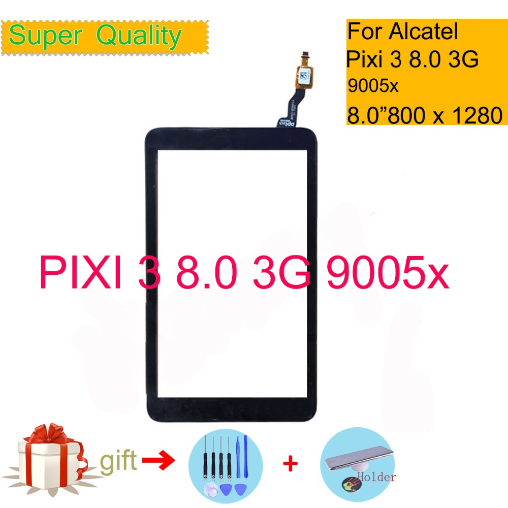 New for Touch Screen Alcatel One Touch Pixi 3 8 3G 9005X version A 8 inch black