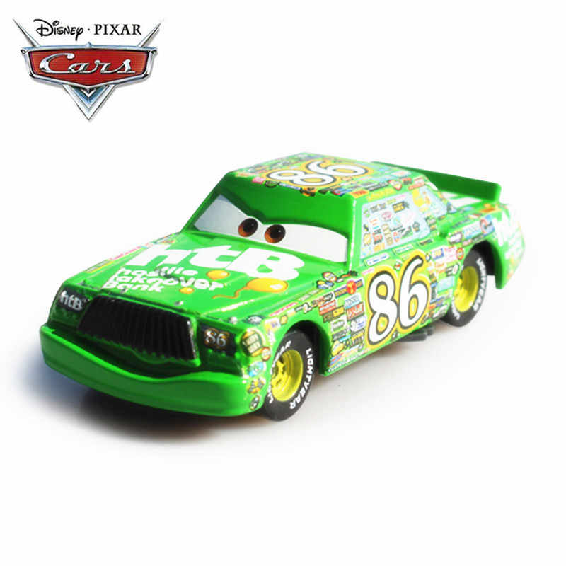 Disney Pixar Cars 2 3 Lightning Mcqueen Hicks No 86 Green 1