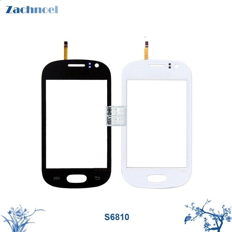 Écran tactile pour Samsung Galaxy GT 6810 S6810 Digitizer Panneau Lentille Du Capteur En Verre 3.5 Pouce Pièces De Rechange