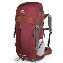 Zaino 40L 50L Interno Telaio Ultraleggero Impermeabile Alpinismo Outdoor Escursionismo Viaggio Arrampicata Campeggio con la Copertura Della Pioggia
