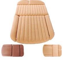 Надувной автомобильный матрас для внедорожника с флокированием, портативная Мягкая надувная подушка, сексуальная автомобильная кровать для путешествий, детский матрас для любимого автомобиля