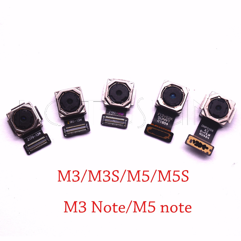 1pcs original tested main rear back <font><b>camera</b></font> for <font><b>Meizu</b></font> M3 <font><b>M3S</b></font> M5 M5S mini M3 M5 note U10 M3 note M681Q image