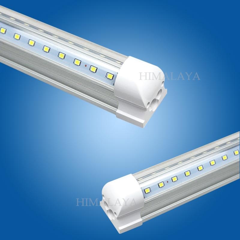 Toika 20pcs/lot 6ft 1.8m 60w led T8 integrated led tube v-shaped tube lamp red/green/blue 6ft 1800mm SMD 2835 AC85-265v CE&ROHS 2016 integrated led tube light t5 900mm 3ft led lamp epistar smd 2835 11watt ac110 240v 72leds 1350lm 25pcs lot